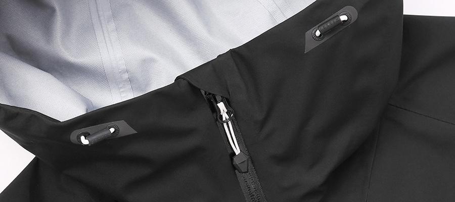 밀레 클래식(MILLET CLASSIC) [밀레클래식 X 엘엠씨] 고어텍스 판테온 자켓_블랙