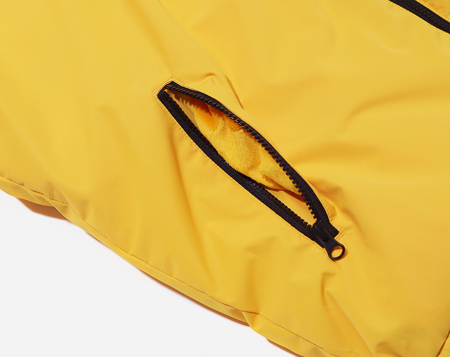 커버낫(COVERNAT) REVERSIBLE DUCK DOWN PUFFER PARKA YELLOW