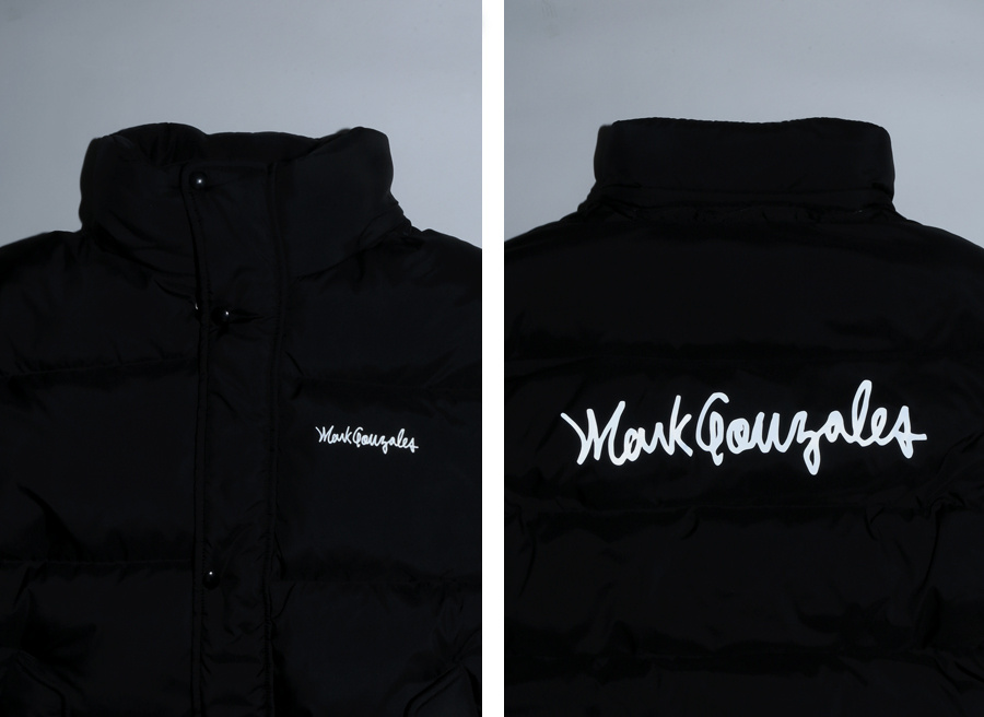 마크 곤잘레스(MARK GONZALES) M/G DUCK DOWN LONG PUFFY JACKET