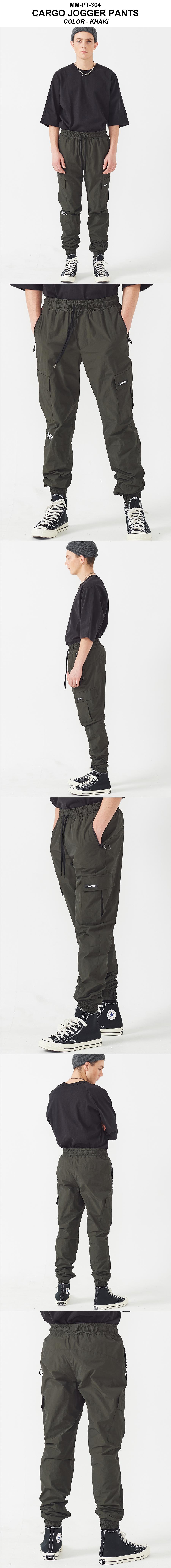 엠엠아이씨(MMIC) CARGO JOGGER PANTS (OLIVE)