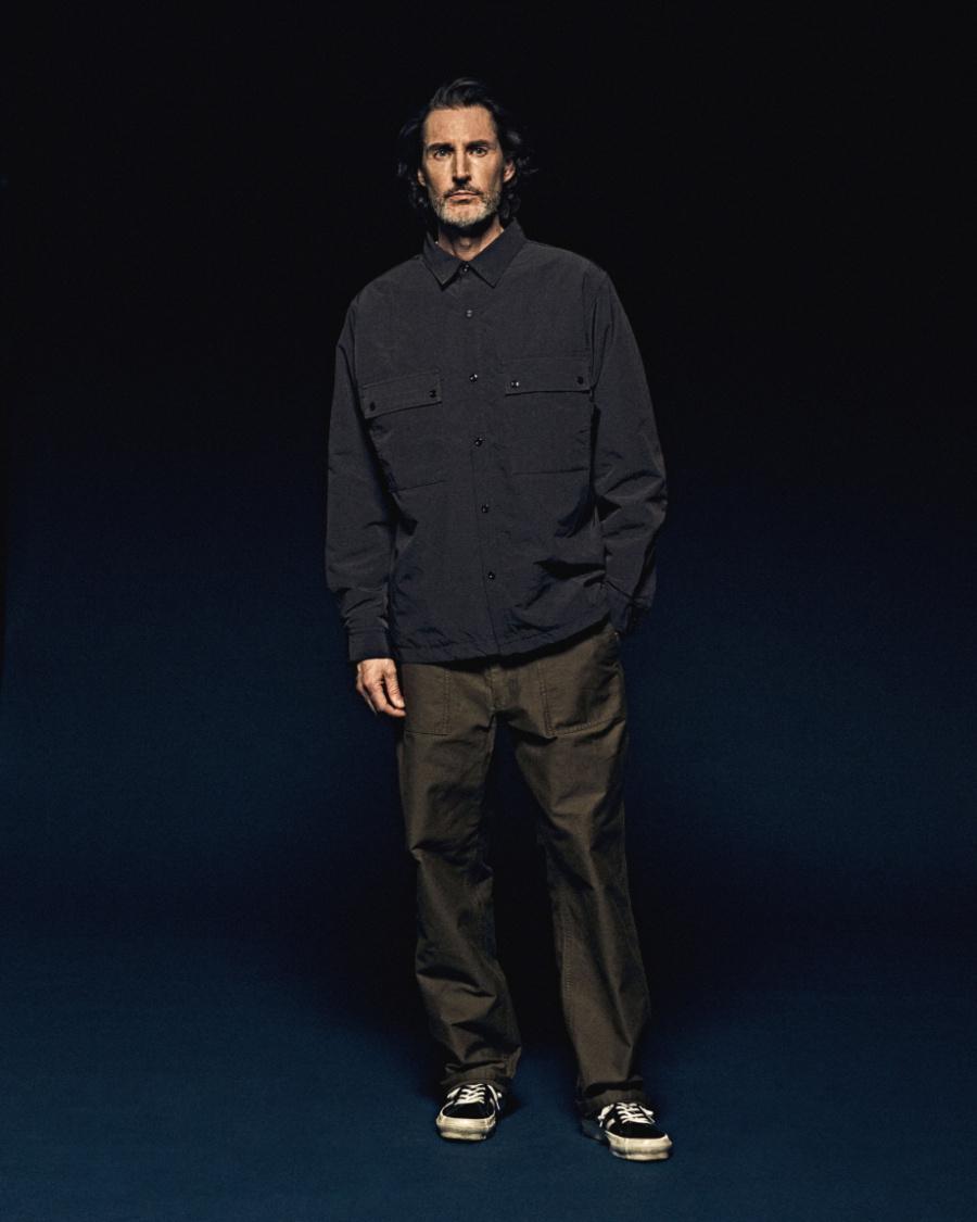 에스피오나지(ESPIONAGE) Belon 107 Padded Shirts Jacket Olive