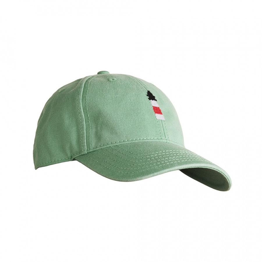 하딩레인(HARDING-LANE) Adult`s Hats Lighthouse on mint hat