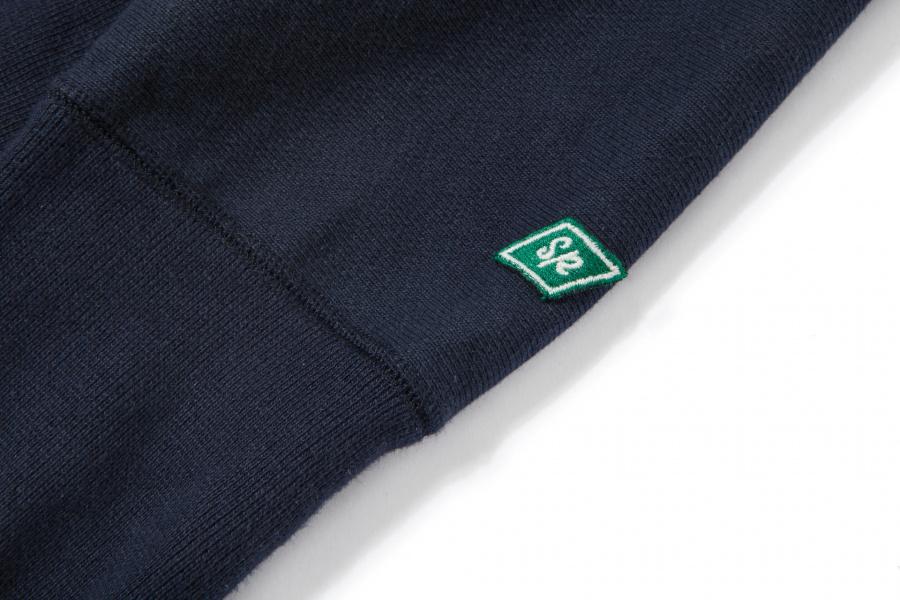 슬로우포크(SLOWPOKE) Standard Zip-up Hoody -navy-
