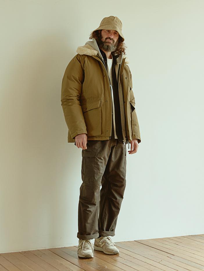 유니폼브릿지(UNIFORM BRIDGE) 18fw m-65 pants khaki