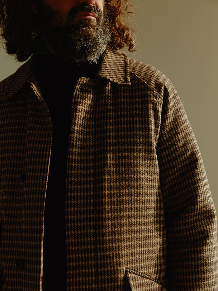 유니폼브릿지(UNIFORM BRIDGE) 18fw wool balmacaan coat black