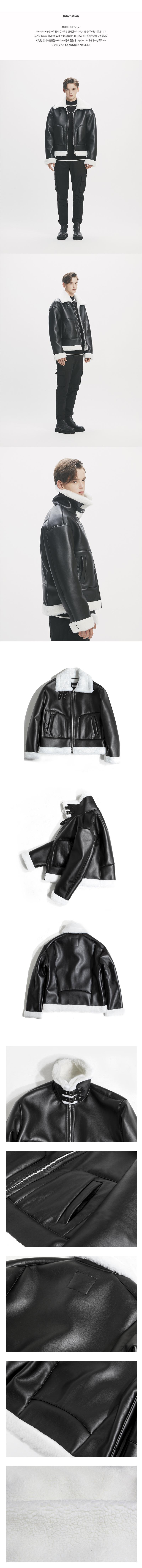 어반스터프(URBANSTOFF) USF Oversized Mustang Jacket Black