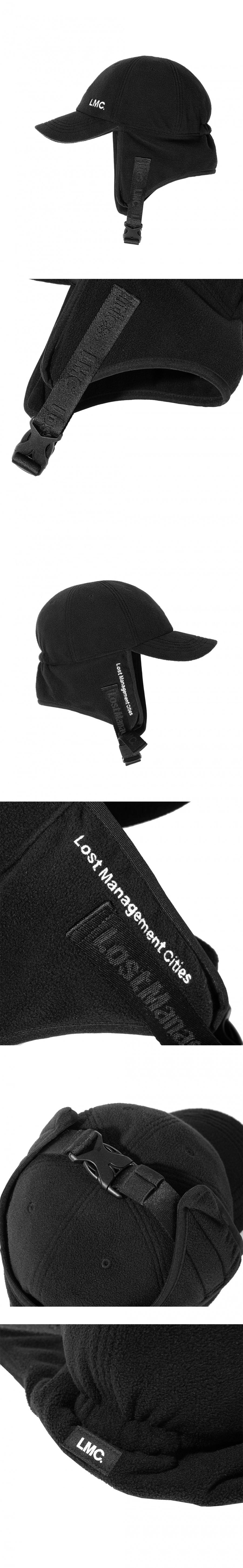 엘엠씨(LMC) LMC FLEECE EARFLAP CAP black