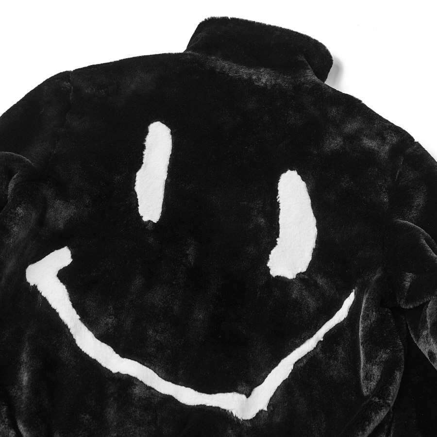 브라만(BRAHMANE) Rabbit Fur  Smile Jacket