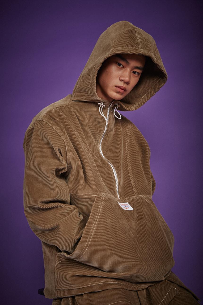 알쉬미스트(R.SHEMISTE) 코듀로이 오버 아노락-BE