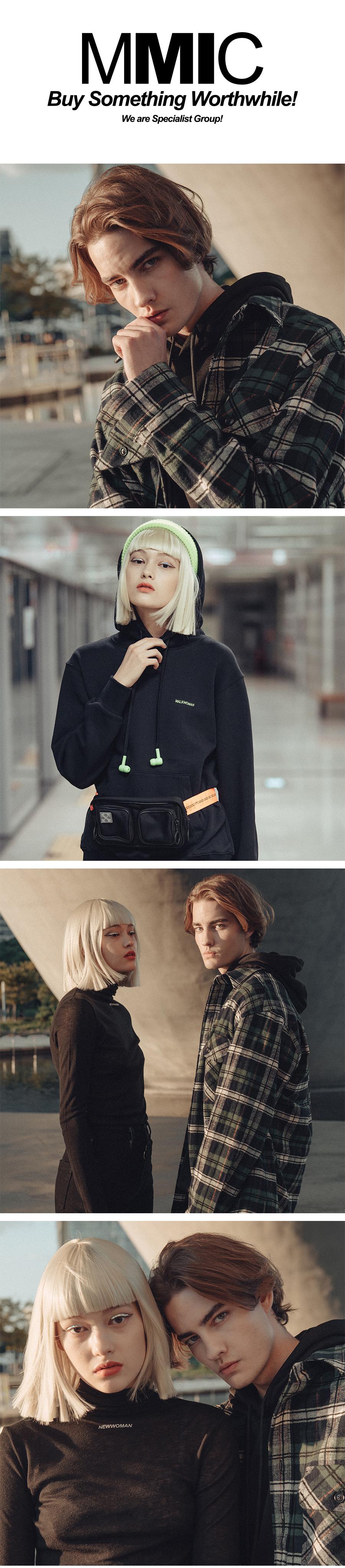 엠엠아이씨(MMIC) WOOL BLENDING TURTLE NECK (BEIGE)