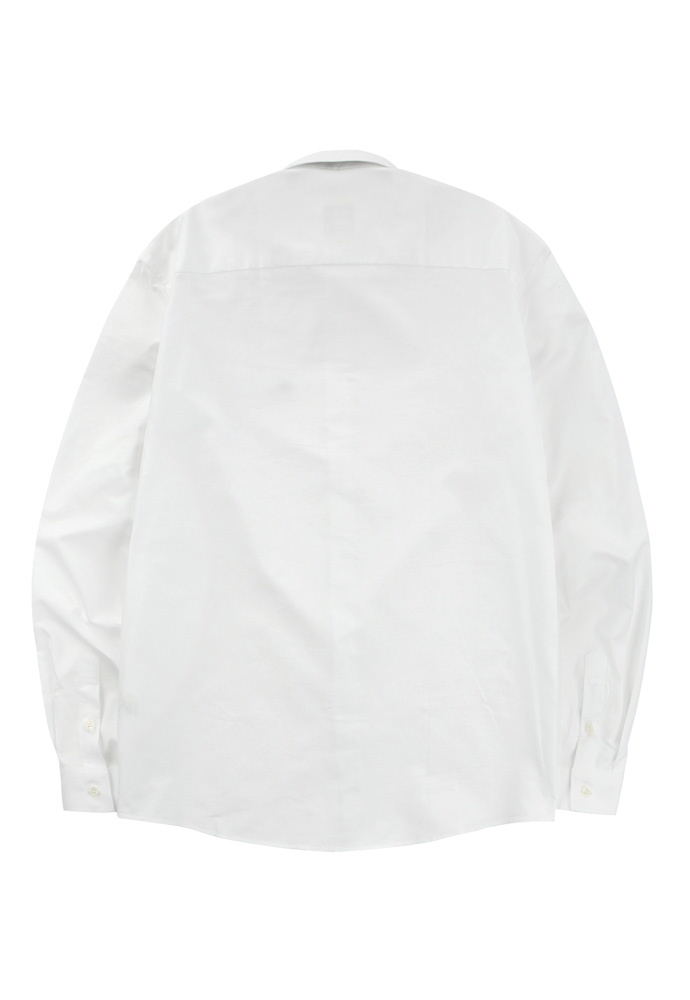 위윌(WWC) BEAR EMBROIDERY SHIRTS [WHITE]