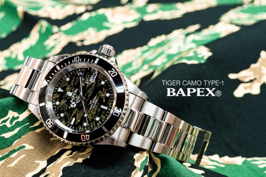 베이프(BAPE) TIGER CAMO TYPE 1 BAPEX