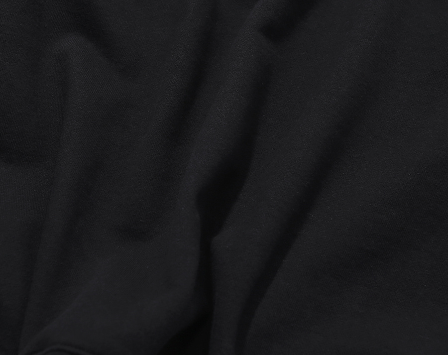 커버낫(COVERNAT) SMALL AUTHENTIC LOGO CREWNECK BLACK