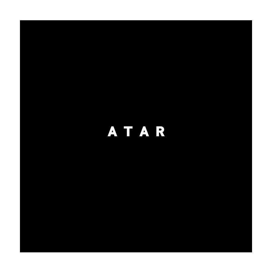 아타르(ATAR) [4차발매]오버핏 더블 체크 코트