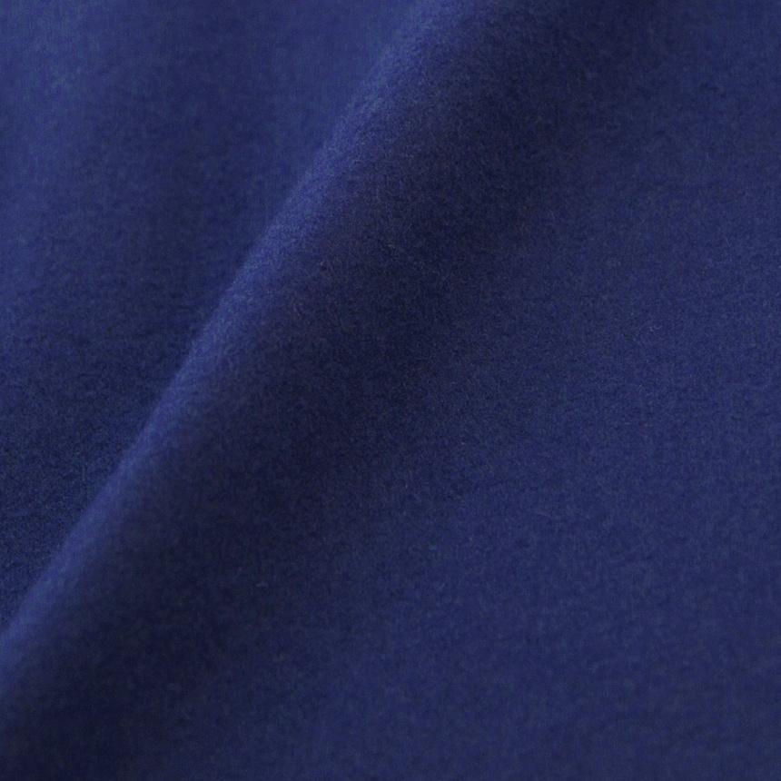 우주스튜디오(WUZU STUDIO) 우주 오버 롱 더플 코트 블루