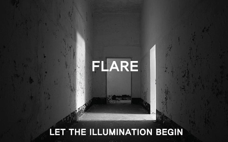 플레어업(FLAREUP) 오버핏 더블 롱코트 / 더블코트 - 네이비 (FL-009)