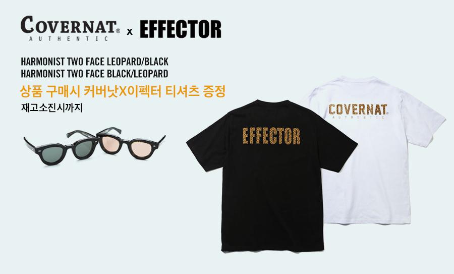 커버낫(COVERNAT) COVERNAT X EFFECTOR HARMONIST TWO FACE BLACK / LEOPARD