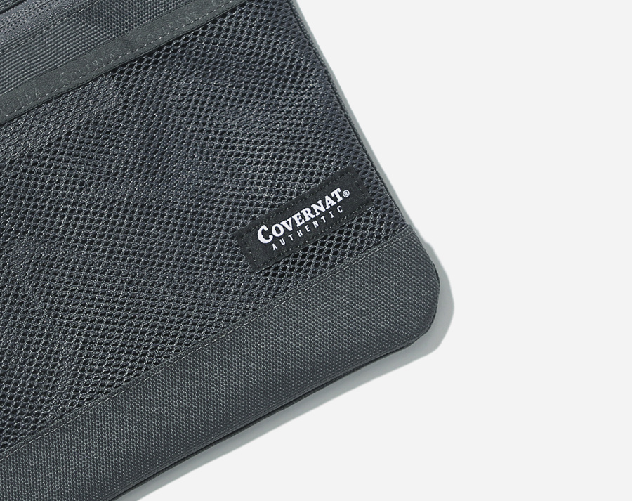 커버낫(COVERNAT) CORDURA SACOCHE BAG GRAY