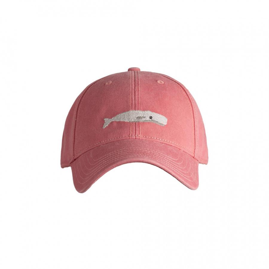 하딩레인(HARDING-LANE) Adult`s Hats White Whale on New England Red