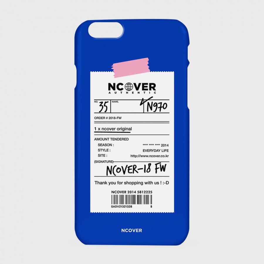앤커버(NCOVER) 어센틱 바코드-블루
