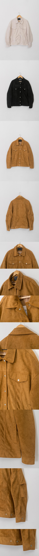 레이디 볼륨(LADY VOLUME) [남여공용]overfit suede trucker jacket2_beige