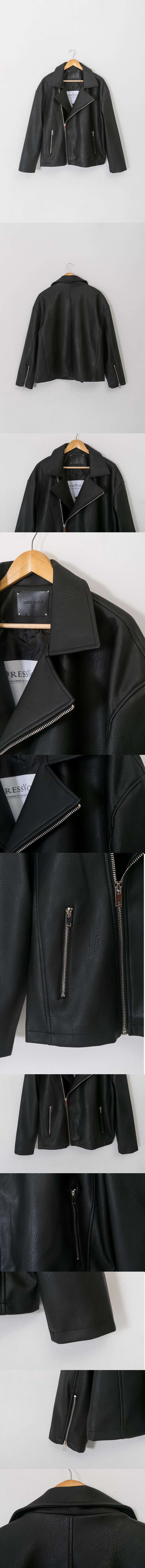 레이디 볼륨(LADY VOLUME) [남여공용]19 overfit riders  jacket