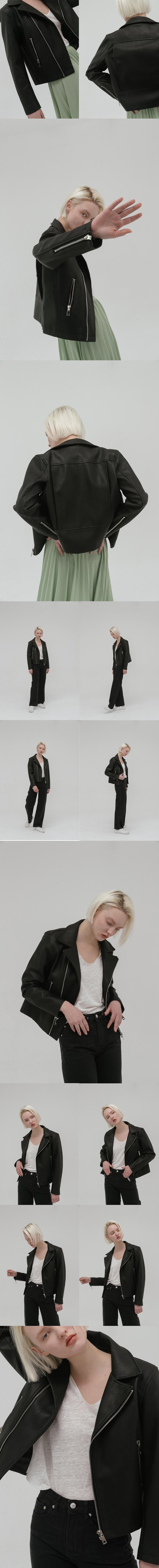 레이디 볼륨(LADY VOLUME) 19 zipper riders  jacket