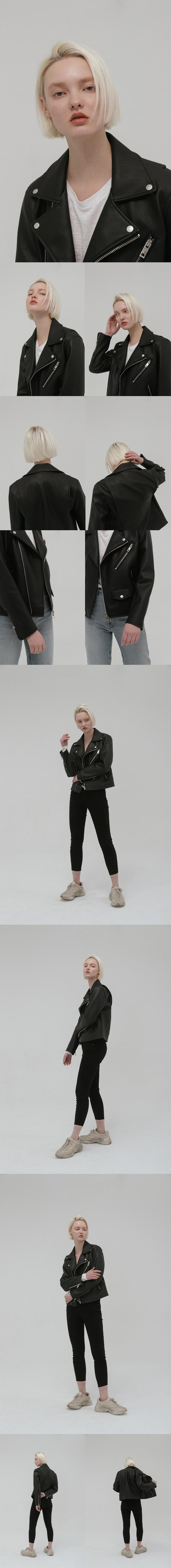 레이디 볼륨(LADY VOLUME) base riders jacket
