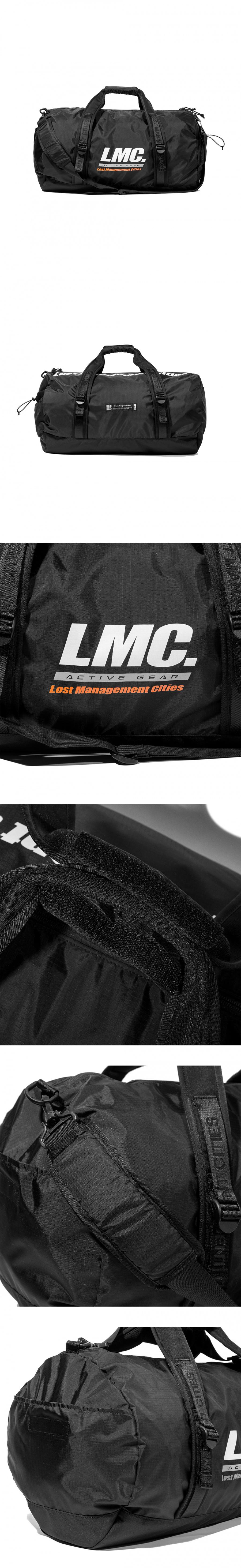 엘엠씨(LMC) LMC ACTIVE PACKABLE DUFFLE BAG black