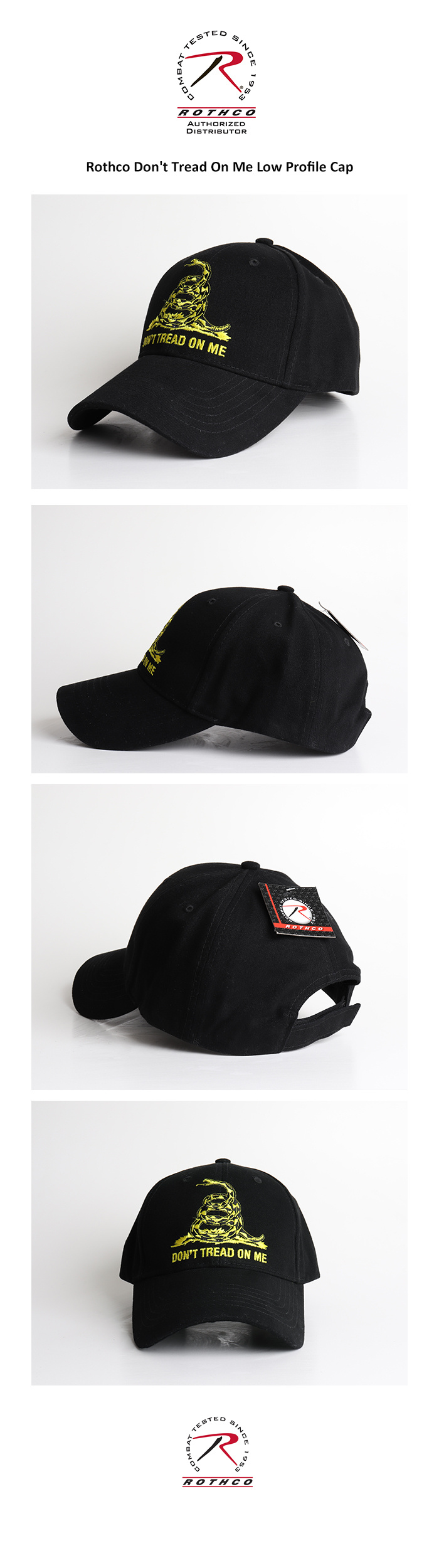 로스코(ROTHCO) [국내배송]  Dont Tread On Me Low Profile Cap