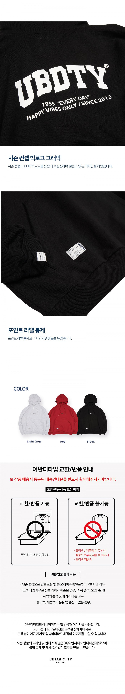 어반디타입(URBANDTYPE) LT290_UBDTY 시즌 후디_블랙