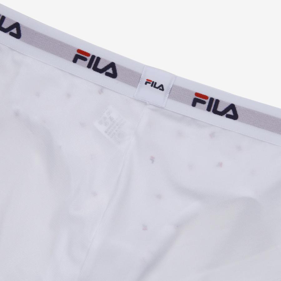 휠라(FILA) [U]아웃핏3 여성드로즈 화이트나염 (FI4DRB1442FWHI)