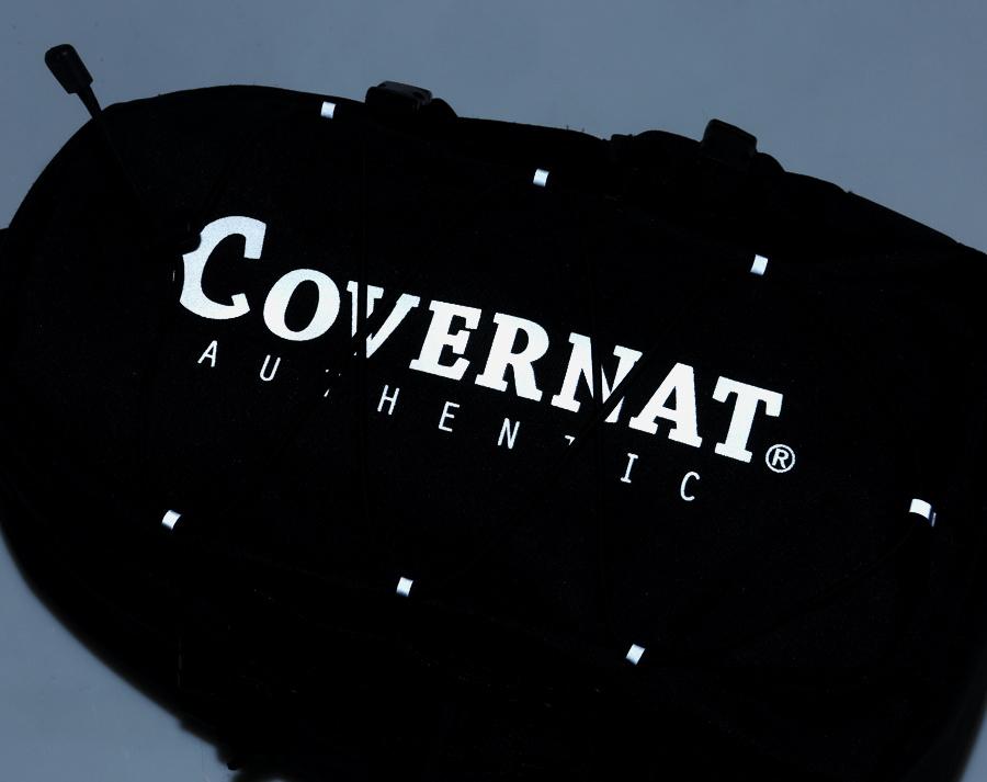 커버낫(COVERNAT) CORDURA AUTHENTIC LOGO RUCK SACK BLACK