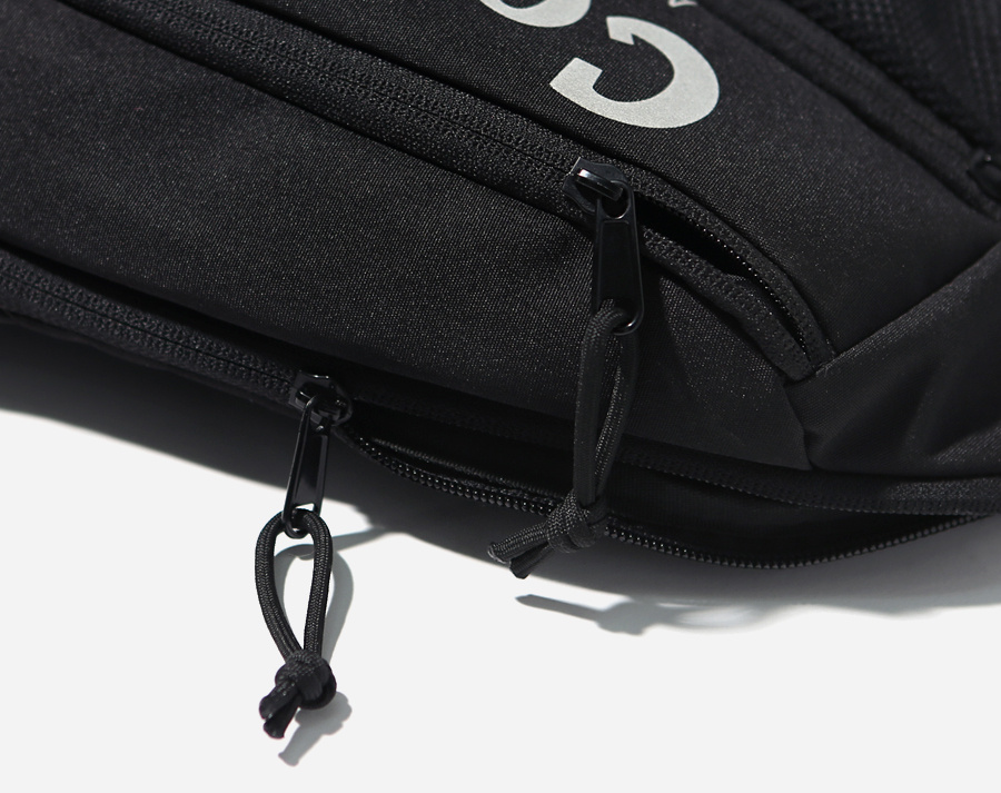 커버낫(COVERNAT) CORDURA AUTHENTIC LOGO SLING BAG BLACK