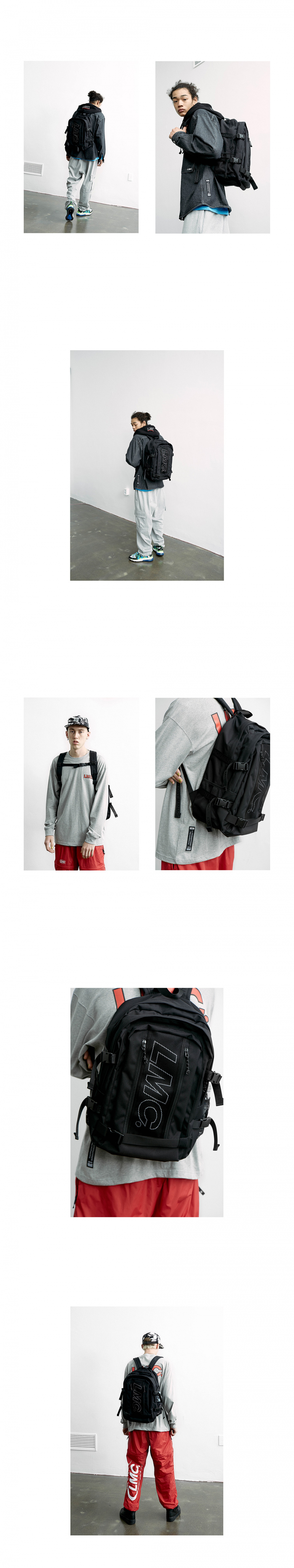 엘엠씨(LMC) LMC UTILITY BACKPACK black