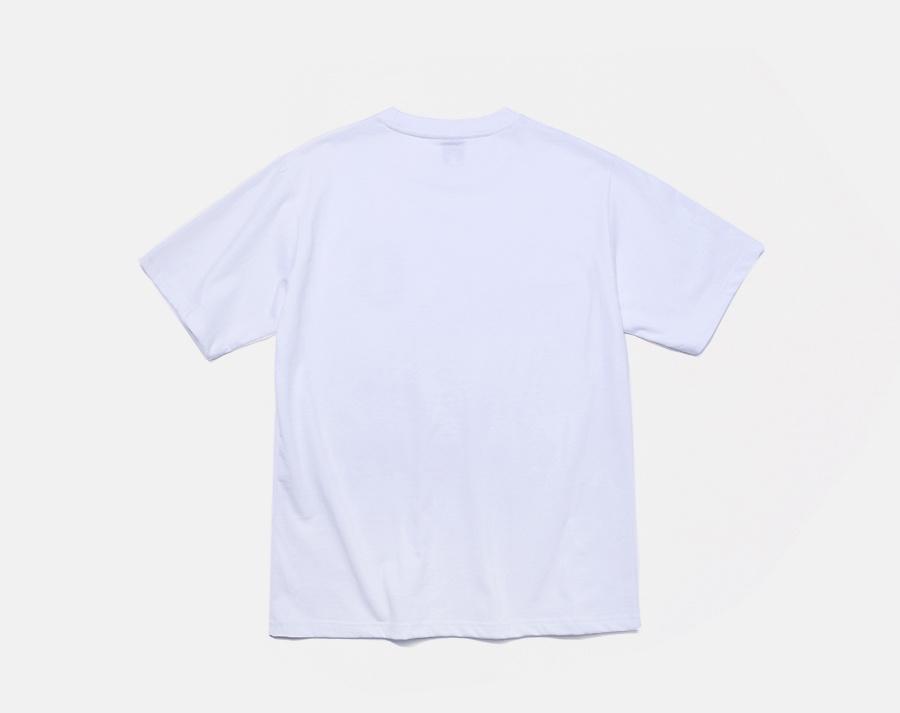 커버낫(COVERNAT) COVERNAT x EFF S/S C LOGO PATCH TEE WHITE