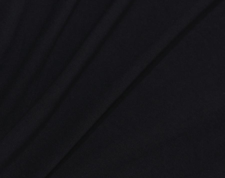 커버낫(COVERNAT) COVERNAT x EFF S/S C LOGO PATCH TEE BLACK