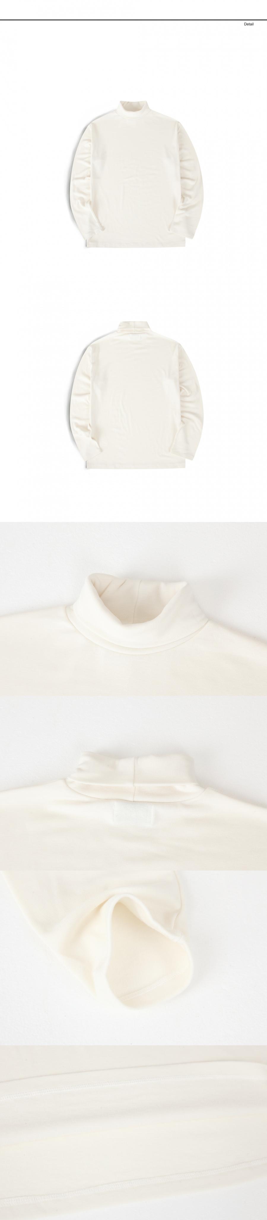 랩12(LAB12) 19S/S 터틀넥 티셔츠 (아이보리)