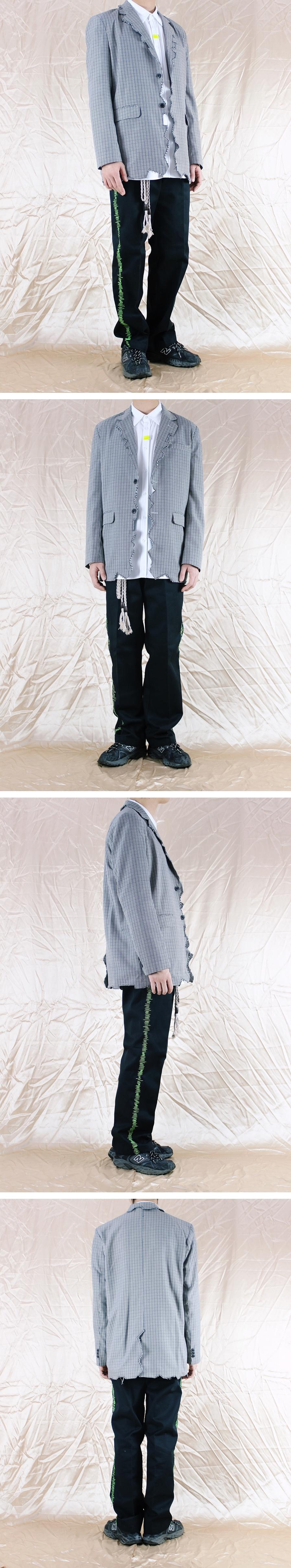런디에스(RUNDS) 리플렉트 오버사이즈 셔츠 (화이트)