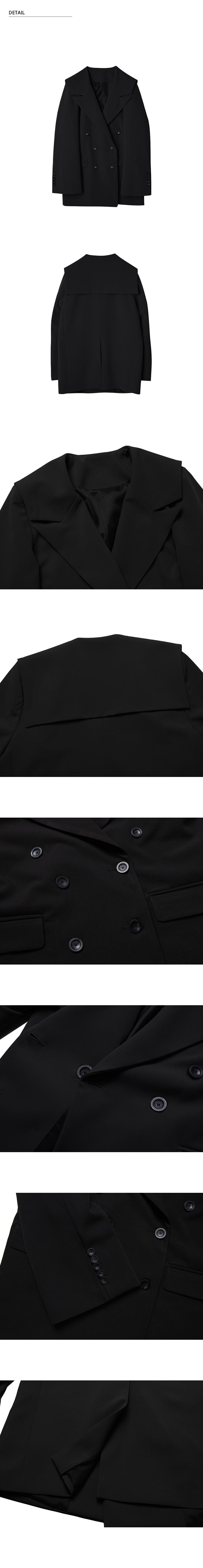 몬츠(MONTS) 881 sailor jacket (black)