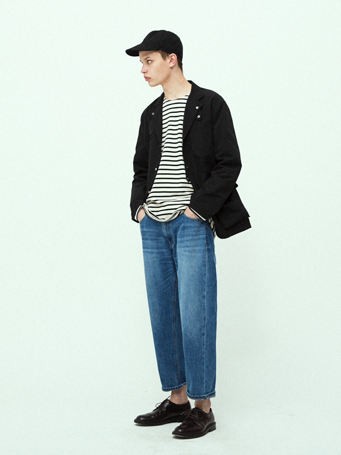 유니폼브릿지(UNIFORM BRIDGE) 19ss easy blazer jacket black
