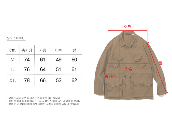 유니폼브릿지(UNIFORM BRIDGE) 19ss canadian combat coat d orange
