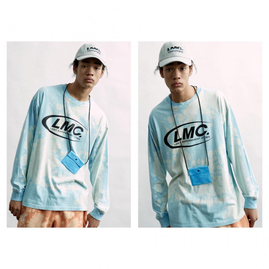 엘엠씨(LMC) LMC PVC COIN POUCH blue