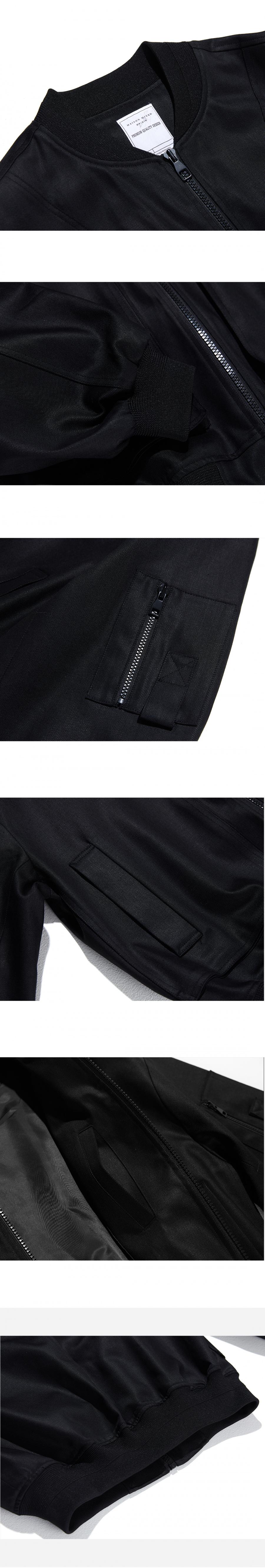 메종미네드(MAISON MINED) (3차 REORDER)BLACK OVER MA-1