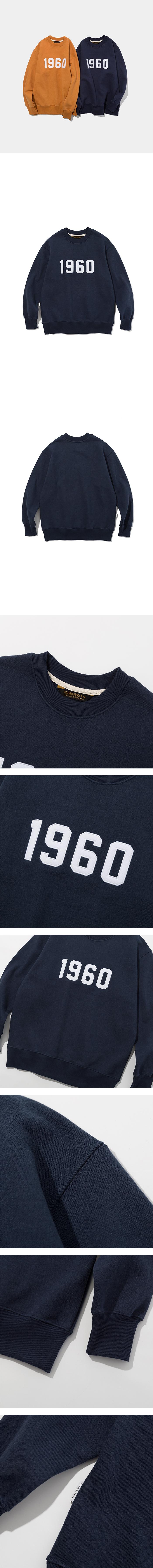 유니폼브릿지(UNIFORM BRIDGE) 1960 sweatshirts navy