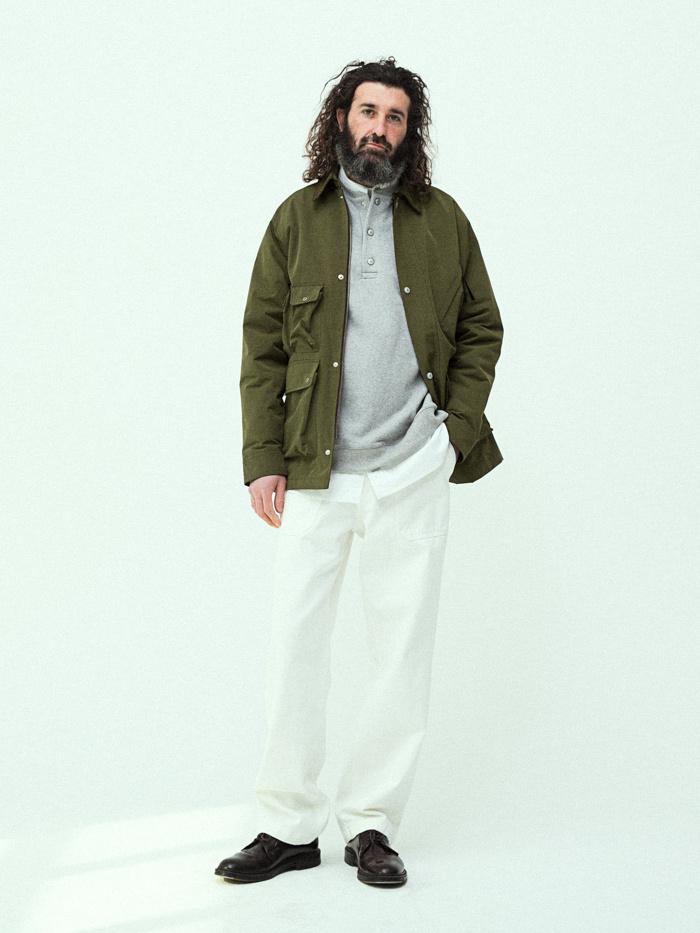 유니폼브릿지(UNIFORM BRIDGE) 19ss fisherman jacket black