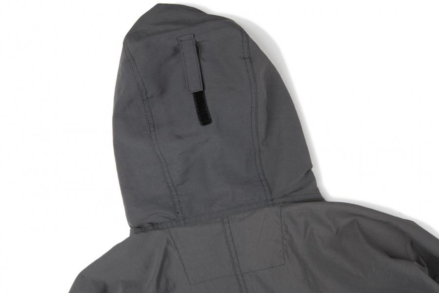 슬로우포크(SLOWPOKE) Standard Windbreaker -Charcoal Grey-