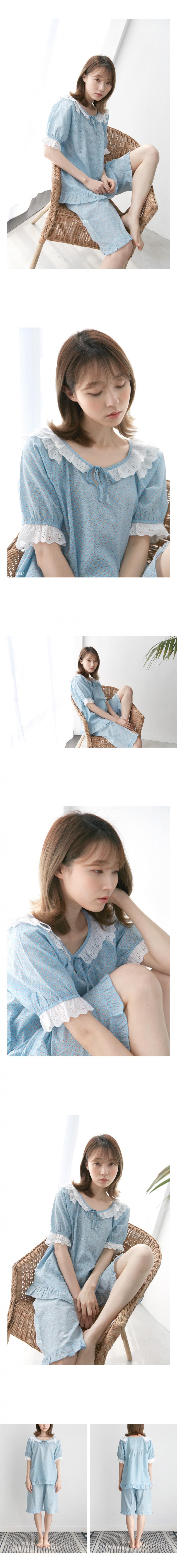 조스라운지(JOSLOUNGE) [여성] 쟈뎅 반팔 상하세트