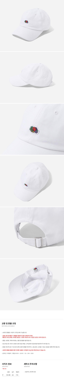 프룻오브더룸(FRUIT OF THE LOOM) WAPPEN LOGO CAP WHITE