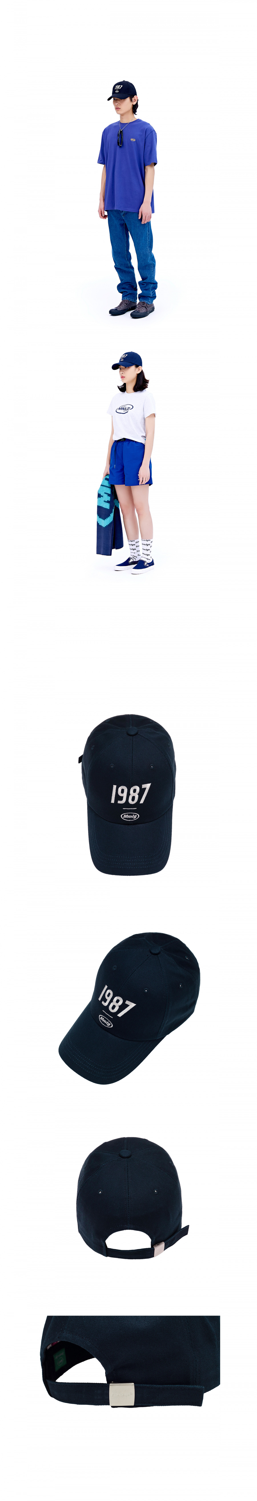 팔칠엠엠(87MM) [Mmlg] 1987MMLG BALLCAP (NAVY)